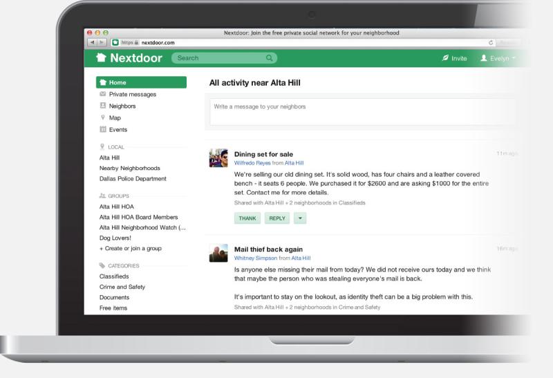 Nextdoor screenshot1