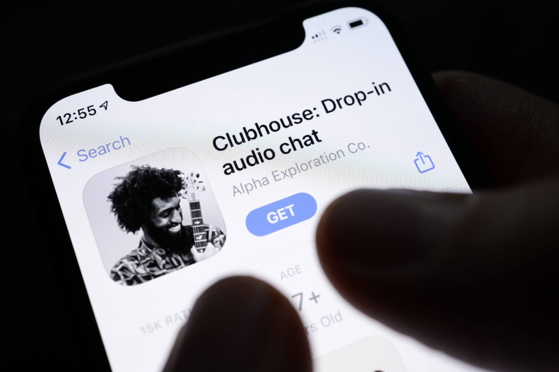 Clubhouse app pic