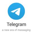Telegram logo 2020