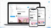 Twitter website redesign